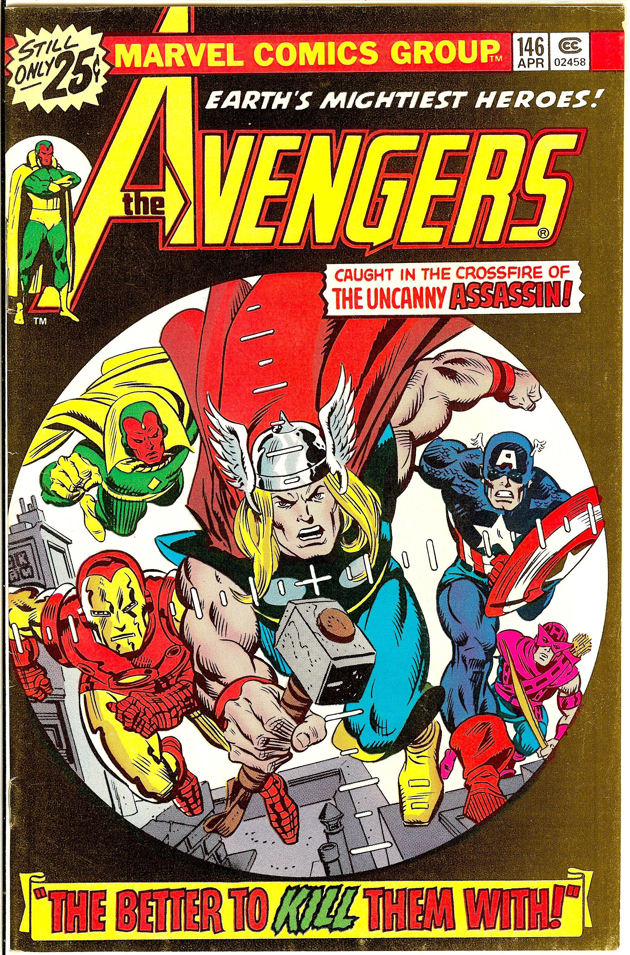 Comic Book Cover Graphics : Avengers