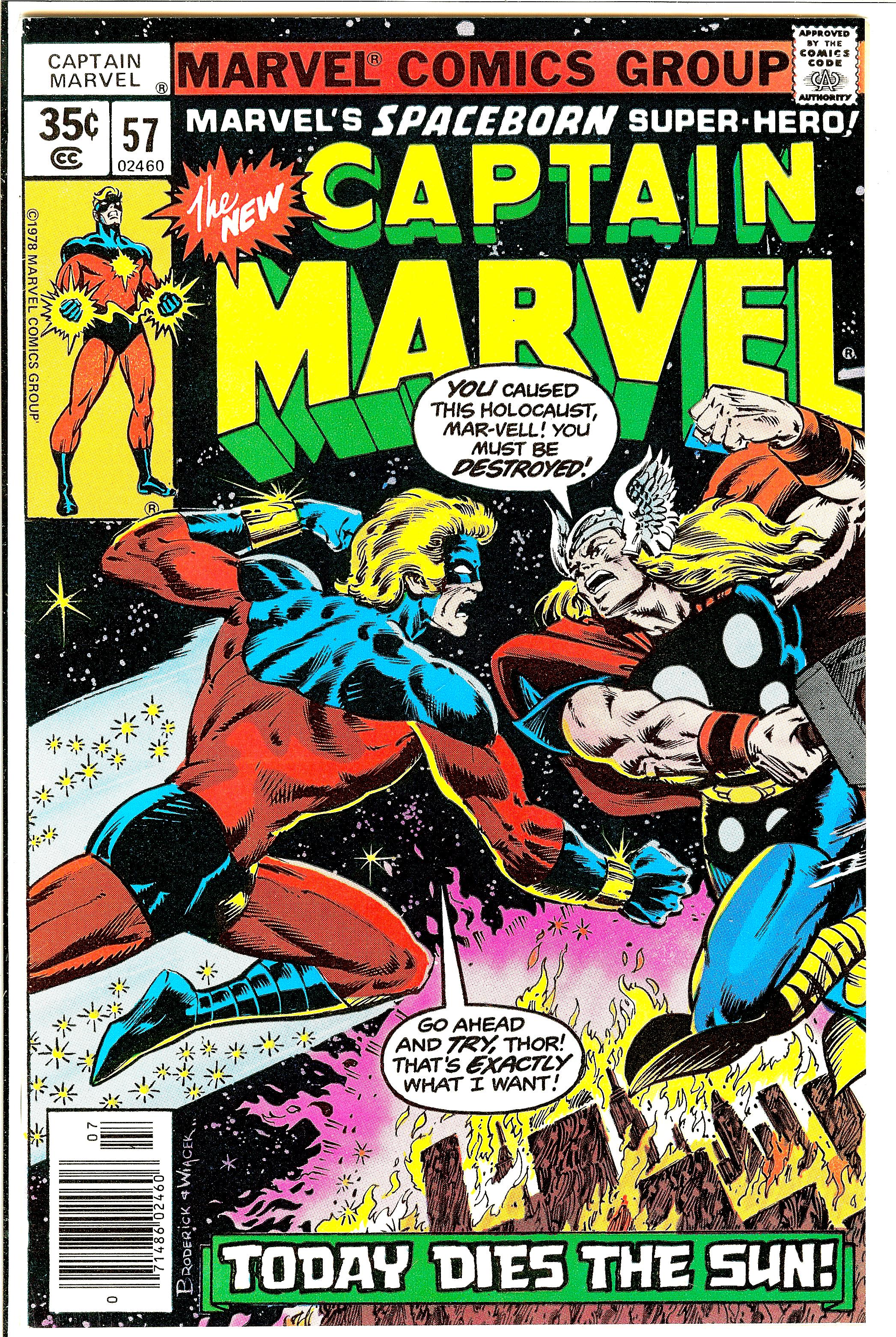 captain marvel 57