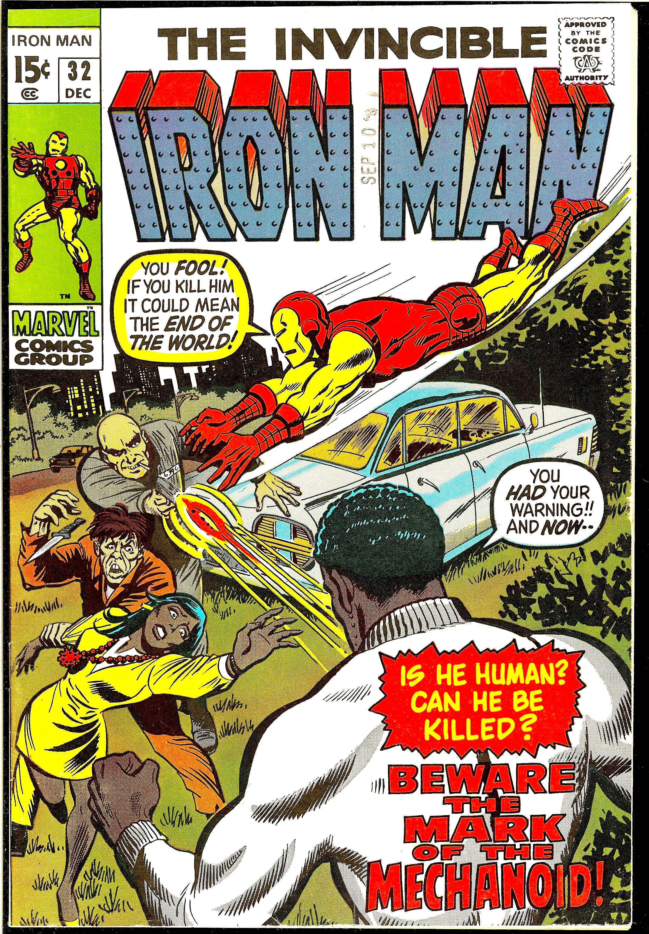 Man 32 Indicted In Alleged Misconduct With 14 Year Old: Iron Man #32