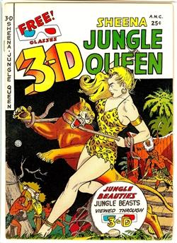 3-D Sheena #1