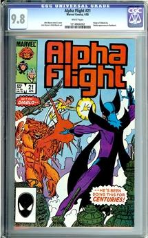 Alpha Flight #21