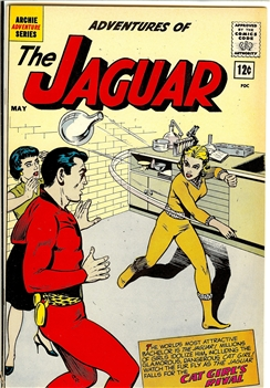 Adventures of the Jaguar #6