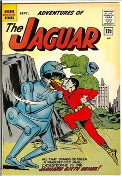 Adventures of the Jaguar #8