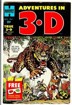 Adventures In 3-D #1
