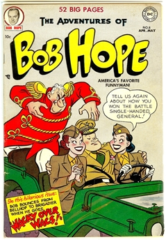 Adventures of Bob Hope #8