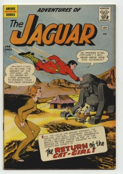 Adventures of the Jaguar #4