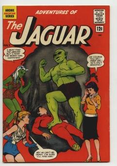 Adventures of the Jaguar #7