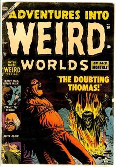 Adventures Into Weird Worlds #20