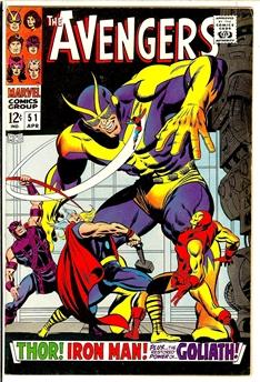 Avengers #51
