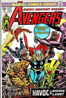 Avengers #127