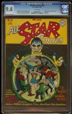 All Star Comics #33