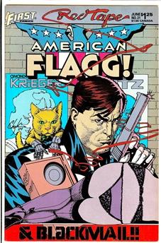 American Flagg! #21