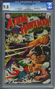 Atom and Hawkman #42