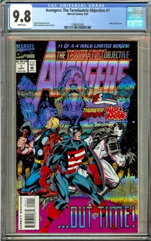 Avengers The Terminatrix Objective #1