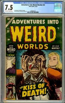 Adventures Into Weird Worlds #23