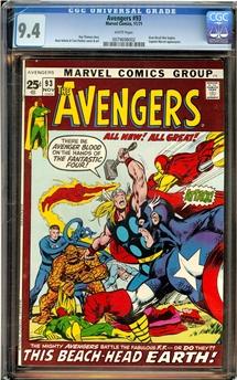 Avengers #93