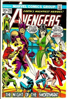 Avengers #114