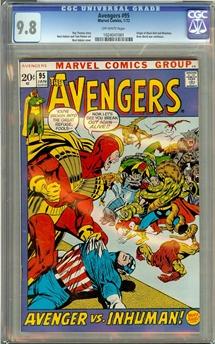 Avengers #95