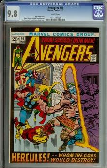 Avengers #99