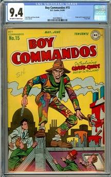 Boy Commandos #15