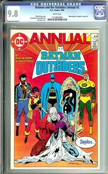 Batman and the Outsiders Annual #2