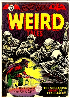 Blue Bolt Weird Tales #113