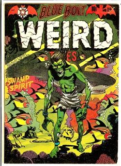 Blue Bolt Weird Tales #114