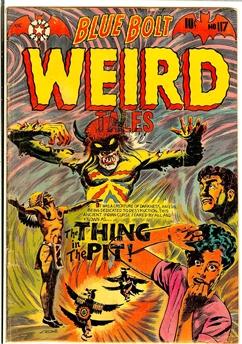 Blue Bolt Weird Tales #117
