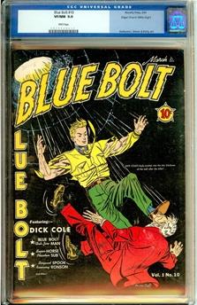 Blue Bolt #10