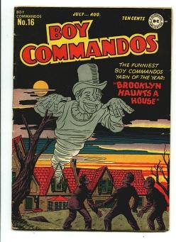 Boy Commandos #16