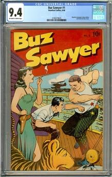 Buz Sawyer #1