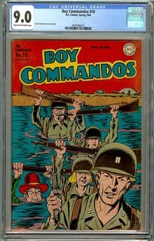 Boy Commandos #10