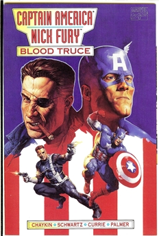 Captain America and Nick Fury Blood Truce #1