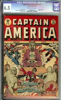 Captain America Comics #35
