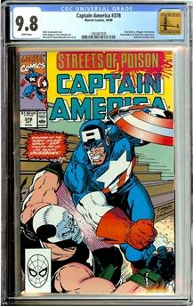 Captain America #378