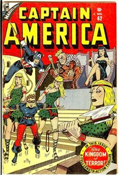 Captain America Comics #62