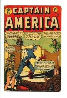 Captain America Comics #67