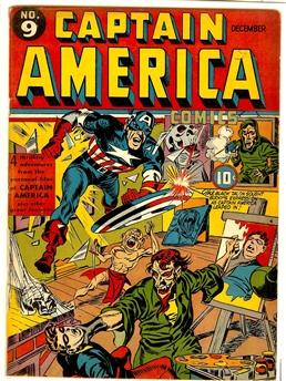 Captain America Comics #9
