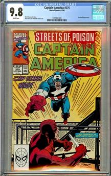 Captain America #375