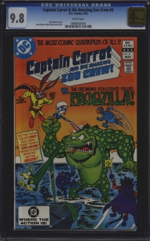 Captain Carrot & His Amazing Zoo Crew #3