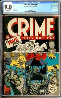 Crime Does Not Pay #28