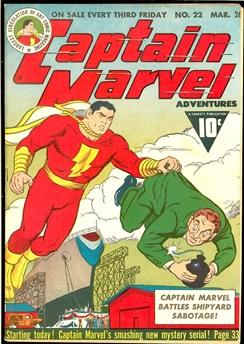 Captain Marvel Adventures #22