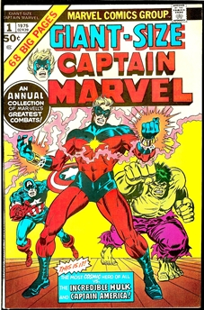 Captain Marvel Giant-Size #1
