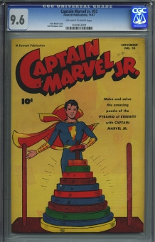 Captain Marvel Jr. #55