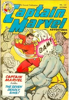 Captain Marvel Adventures #137