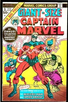 Captain Marvel Giant-Size #1
