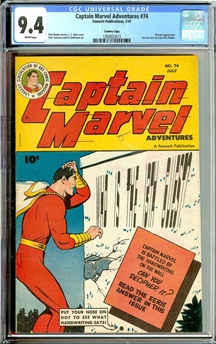 Captain Marvel Adventures #74