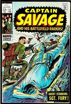 Captain Savage #11