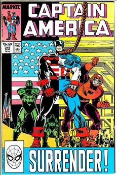 Captain America #345