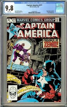 Captain America #277